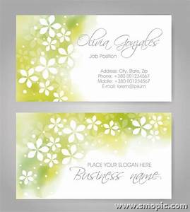 Free light green abstract pattern business card cover for Business card background designs