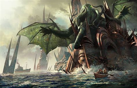 H.P. Lovecraft images Cthulhu! HD wallpaper and background