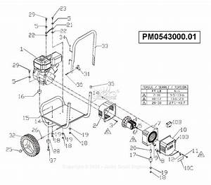 Powermate Formerly Coleman Pm0543000 01 Parts Diagram For