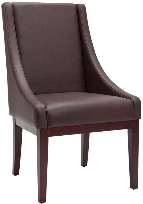 safavieh leather dining chairs mcr4500c dining chairs furniture by safavieh