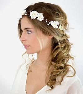 Coiffure Mariage Cheveux Court : coiffure mariage sur cheveux mi long ~ Dode.kayakingforconservation.com Idées de Décoration