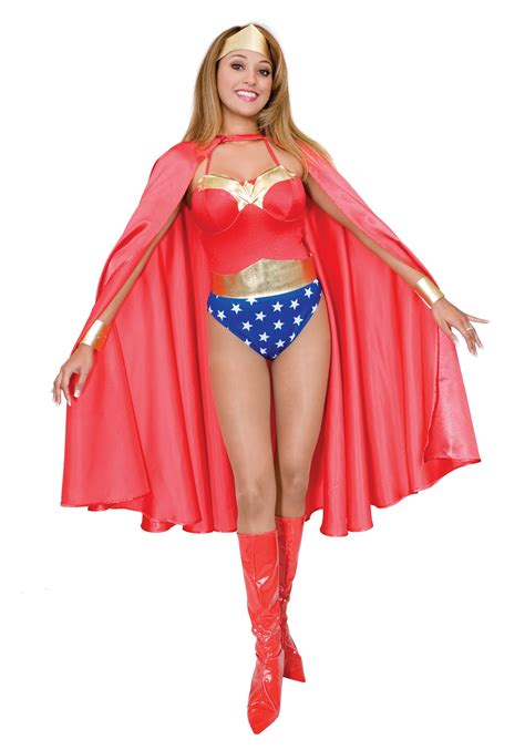 Outdoor Halloween Decorations 2017 by Deluxe Red Superhero Cape