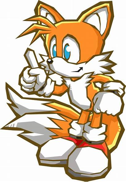 Sonic Tails Battle Prower Miles Official Hedgehog