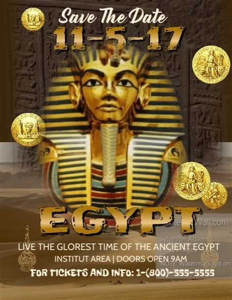 Tut Poster Template king tut template postermywall