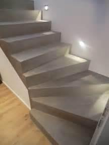 Treppe Renovieren Pvc : beton cire oberfl chen in beton look und wieder eine treppensanierung mit besserbauen beton cire ~ Markanthonyermac.com Haus und Dekorationen