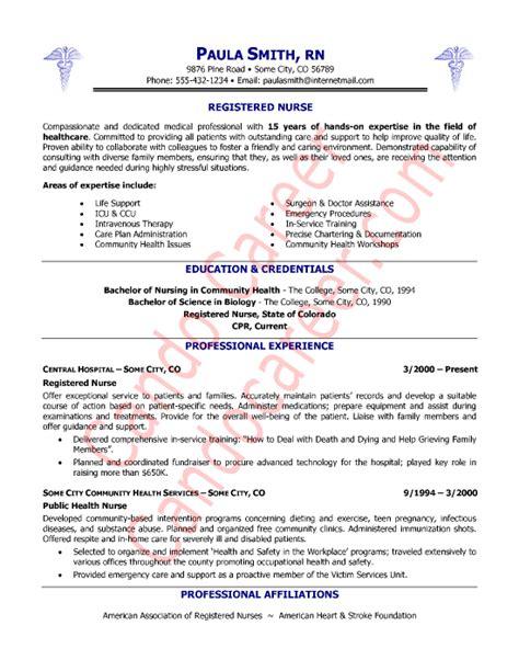 registered nurse resume sample nurse sample cover