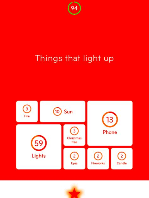 things that light up 94 level 75 things that light up answer 94
