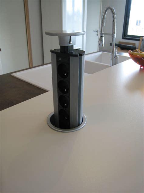 bloc cuisine compact bloc escamotable compact inox prises galerie et prise