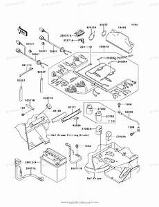 Kawasaki Side By Side 2010 Oem Parts Diagram For Chassis Electrical Equipment