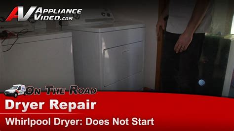 whirlpool dryer does repair thermostat leaking water start refrigerator freezer maytag grommet drain