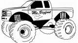 Pages Coloring Truck Grinder Equipment Heavy Printable Monster Trucks Dump Colouring Drawings Getdrawings Border Designlooter Getcolorings Bigfoot sketch template