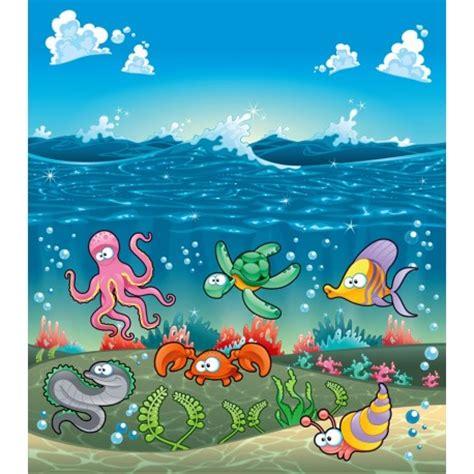 peinture chambre fille 10 ans paysage océan décoration pour enfant papier peint