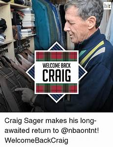 WELCOME BACK Br Craig Sager Makes His Long-Awaited Return ...