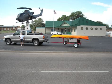 Jon Boat On Utility Trailer by Show Me Your Hf Trailer Conversion Kayak Fishing