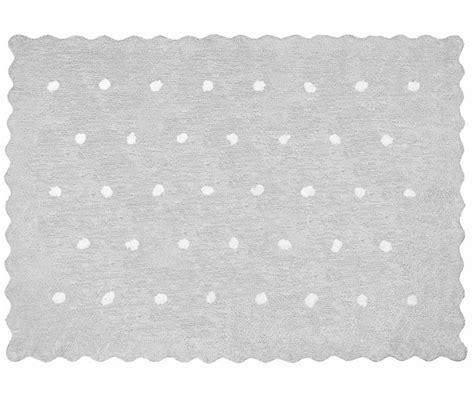 aratextil teppich kinderzimmer kinderteppich punkte topitos grau teppiche waschbar
