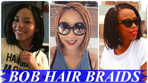 20 Top Lovely Bob Braids Hairstyles For Black & African