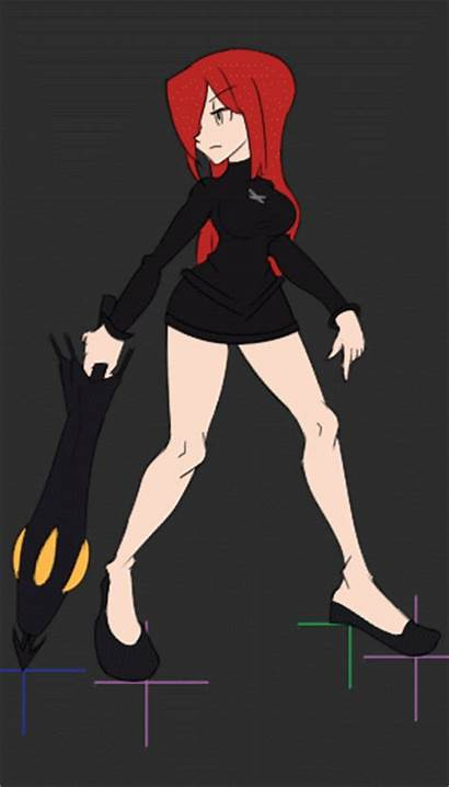 Parasoul Animation Bouncing Graphics Shading Cleaned Effects