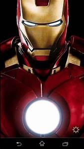 App   Free  Flashlight Iron Man