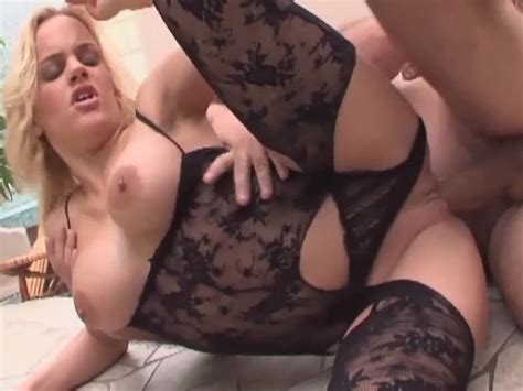 Busty Blonde Milf Sex In Stockings And Heels Free Porn Videos Youporn