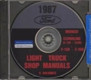 Ford 1987 Bronco  Econoline E150
