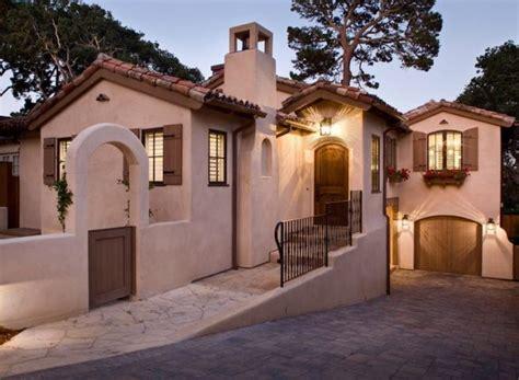 casas mediterraneas  fotos  ideas de fachadas