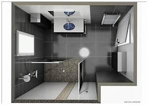 Plan Salle De Bain 4m2 : plan en 3d salle de bains ~ Dailycaller-alerts.com Idées de Décoration