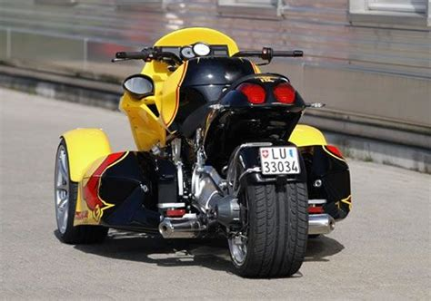 A 4 Cylinder Bmw Reverse Trike From Gg Technik