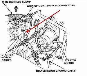 1993 Honda Accord Reverse Lights Not Working    Back
