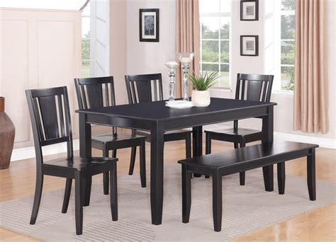 black rectangle kitchen table  chairs black kitchen