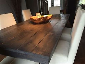 mobilier cuisine vintage tables de cuisine en bois de grange plusieurs models