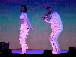 Rihanna and Drake 2016