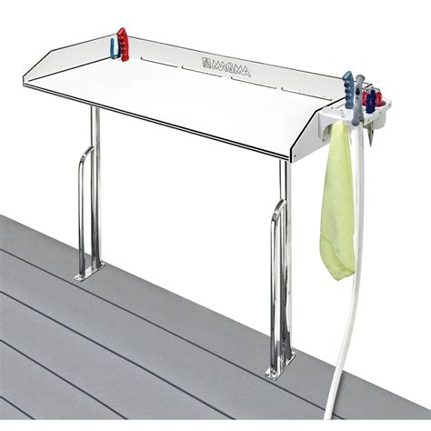 Wax Boat Dock by Magma Tournament Series Cleaning Station Dock Mount 48 Quot