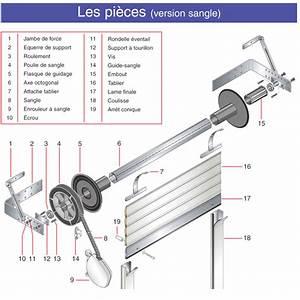 Moteur Pour Porte De Garage : volet roulant pieces volet roulant pieces with volet ~ Premium-room.com Idées de Décoration