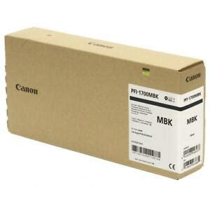 When i try to connect my printer, it cannot find the printer? Canon PFI-1700 700ml Matte Black Pigment Ink Tank ...