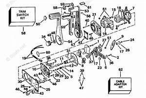Omc Sterndrive Accessories 1995 Oem Parts Diagram For