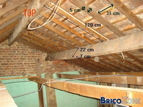 isolant faux plafond metal stud ossature en bois ou