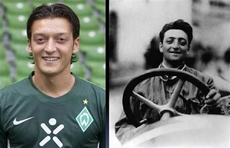 Enzo anselmo giuseppe maria ferrari, мфа: Footballer Mesut Ozil And His Look Alike Enzo Ferrari - Sports - Nigeria