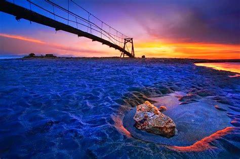 batu belig beach   pleasant beach  sunset view
