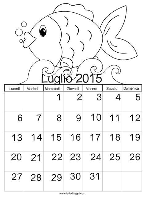 calendario luglio 2019 da stare pdf calendario 2015 da colorare luglio tuttodisegni