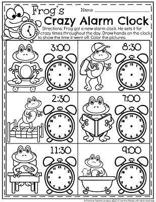 telling time worksheets  images time worksheets