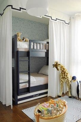 i did this with my bunk bed only i used hooks