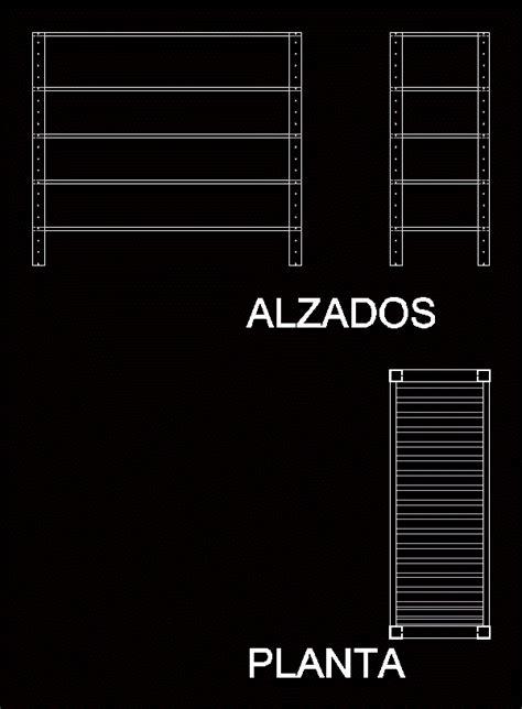 metal shelf dwg block  autocad designs cad