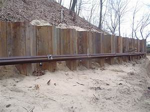 STEEL SHEET PILE RETAINING WALL | Flickr - Photo Sharing!