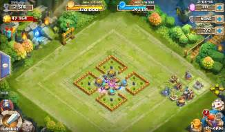 Castle Clash Base Design