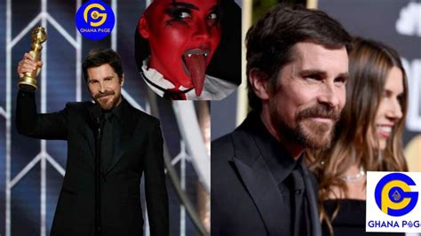 Christian Bale Thanks Satan Wins Golden Globes