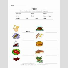 Esl Food Vocabulary 2