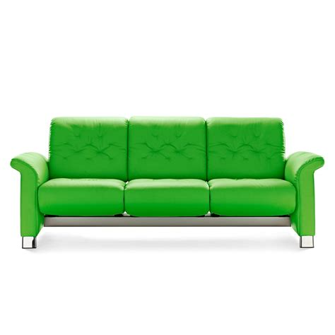 Stressless Legend Sofa by Stressless Sofa 3 Sitzer Metropolitan Paloma Summer Green