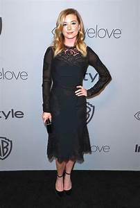Emily VanCamp At InStyle and Warner Bros Golden Globes ...