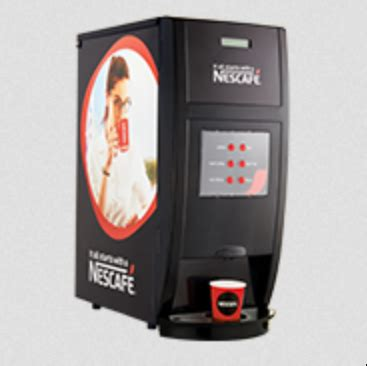 Waking up without a cup of coffee just doesn't feel right and prepare you to face the day head on! NESCAFE Spectra Double Option Coffee Wending Machine, चाय - M/S Harry Singh, Gwalior   ID ...