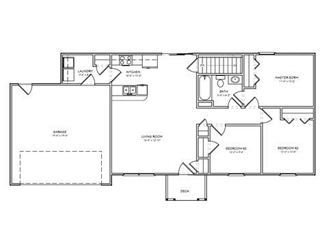 inspiring small ranch house plans  small  bedrooms